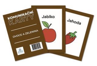 Komunikační karty PAS - Ovoce a zelenina [Karty]